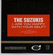 (BZ982) The Suzukis, Are You Happy With Your Self? - 2011 DJ CD