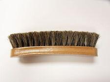 "Professional Boot/Shoe Shine/Buff Brush - 100% Horsehair 6-5/8"" Long - BLONDE"