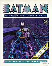 BATMAN DIGITAL JUSTICE BY PEPE MORENO FIRST EDITION HARDCOVER STILL SEALED!! NEW