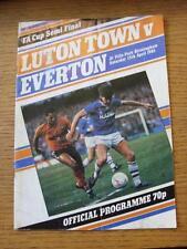 13/04/1985 FA Cup Semi-Final: Luton Town v Everton [At Aston Villa] (Heavy creas