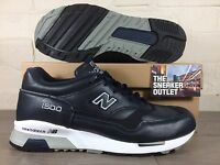Mens New Balance 1500 NAV Trainers UK Size 11.5 //  Blue Leather Made In England