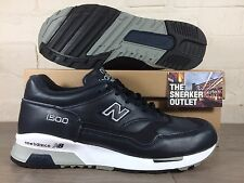 Mens New Balance 1500 NAV Trainers UK Size 7.5 // US 8 Leather Made In England