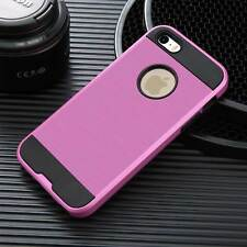 For iPhone 4 4s 5 6 7 Plus Hard Matte Silicone Shockproof Armor Phone Case Cover