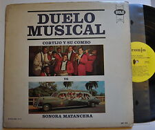 VG+ Duelo Musical Sonora Matancera vs. Cortijo y Su Combo LP VPI Cleaned!