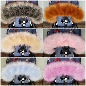 Pram Fur For Pram Hood Trim FAST DELIVERY All models Strollers Pushchairs Prams