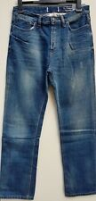 "MEN`S NEW FAT FACE STRAIGHT LEG JEANS W36""-L34"" MID WASH - RRP £55"