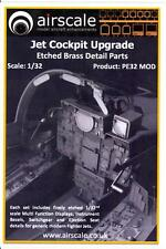 Airscale Decals 1/32 JET COCKPIT UPGRADE SET Photo Etched Brass