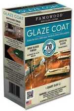 FAMOWOOD 5050080 Glaze Coat Epoxy Kit - 1 Quart, Crystal Clear High Gloss