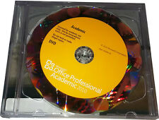 Microsoft Office Professional 2010 (32/x64) Academic Ed. DVD w/Hologram New!!