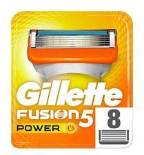 Gillette Fusion5 Power lame di ricambio per rasoio 8 ricaric. Originale. Nuove.