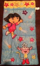 Dora the Explorer & Boots Blue Sleeping Bag/Comforter