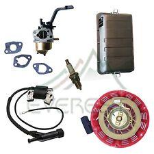 Tune Up Kit For GX200 Honda Generator Carburetor Air Filter Recoil Ignition Coil