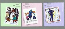 CANADA 2006 Set of 3 Booklets  - CHRISTMAS (Total F/v = $20.40) - Complete - MNH