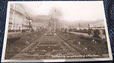 England Eastbourne Carpet Gardens and Pier Head - posted 1937