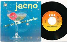 """JACNO 45 TOURS 7"""" HOLLANDE TANT DE BAISERS PERDUS (FRANCOISE HARDY ETIENNE DAHO)"""