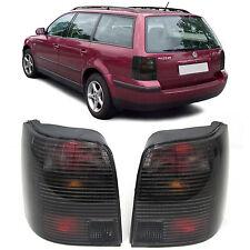 Black smoked finish tail rear lights for Passat 3B wagon touring 96-00