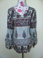 Neue BON A PARTE Damen Bluse Alisha Gr XL Paisley Muster NEU/OVP