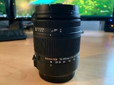 Sigma DC 18-250mm F/3.5-6.3 OS HSM DC Lens. Boxed VGC