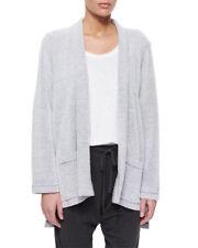 NWT Eileen Fisher Cotton Blend Kimono Cardigan in Dark Pearl - Size L #S1192