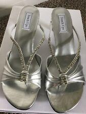 Touch Ups Women's   Phoebe silver sandal size 12