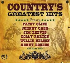 Country's Greatest Hits 3cd NEUF willie Nelson/Hank snow/Jim reeves/Johnny Cash/