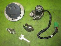 2002 Suzuki GS500 Gs 500 Key Ignition Gas Fuel Cap Seat Lock Set