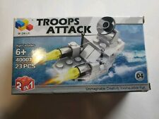 Troops Attack 2 in 1 Military Building Toy Sea Boat 40001