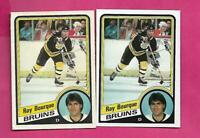 1984-85 OPC / TOPPS # 1  BRUINS RAY BOURQUE EX-MT  CARD (INV# C5305)