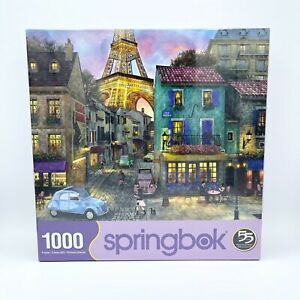 New Springbok (10824) Eiffel Magic 1000 Piece Jigsaw Puzzle USA SEALED