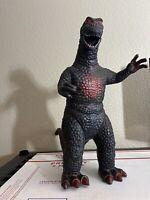 """Vintage 90s 15"""" Tall Godzilla 1997 DORMEI Foot Stamped"""