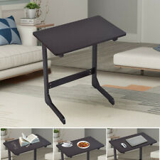 Bamboo Snack Table Sofa Couch Coffee End Table Bed Side Table Laptop Desk US