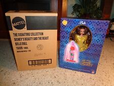 NIB Mattel Walt Disney The Signature Collection Beauty and the Beast Belle Doll