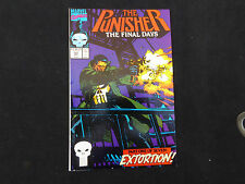 Punisher #53 The Final Days (Oct 1991 Marvel)