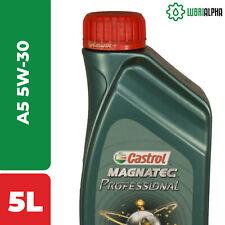 Olio Motore Castrol MAGNATEC Professional A5 5W30 5 Litri