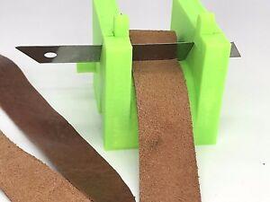 Leder Splitter Edge Skiver Paring Cutter Leathercraft Lederhobel 3D Printer PLA