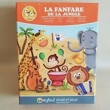 Jeu de société éducatif enfants La Fanfare de la Jungle - Oxybul Eveil et Jeux