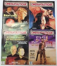 1992-93 - Cinefantastique - Evil Dead Iii - Star Trek - Dracula - Babylong V -Fn