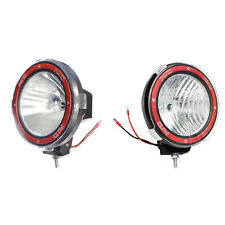 Pair 7 inches 4x4 Off Road 6000K 55W Xenon HID Fog Lamp Light Flood+Spot (2pcs)