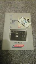 Scantronic 9800 Intruder Alarm System user manual