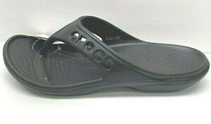 Crocs Size 12 Black Sandals New Mens Shoes