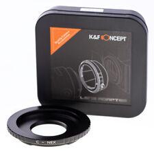 K&F Adapter C-Mount Objektiv an Sony E-Mount Kamera (Praktica-NEX) 06.166  / 639
