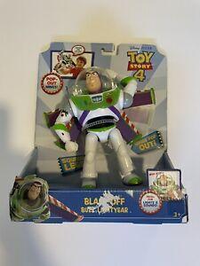 "Toy Story Blast-Off Buzz Lightyear Figure Disney Pixar 7"" Mattel"