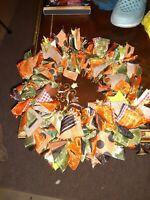 Brand New Home made Fall/Halloween Wreath