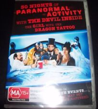 30 Nights of Paranormal Activity & Devil Inside Girl with Dragon Tattoo DVD New