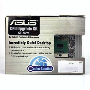 Asus CT-479 Pentium M Socket 478 479 adaptor Includes Pentium M 740 CPU