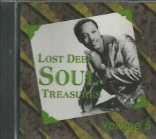 LOST DEEP SOUL TREASURES - CD - Volume 5 - BRAND NEW