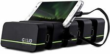 Gelid Solutions Fourza, USB Docking Station, i-Phones, Phones + Tablet Charger