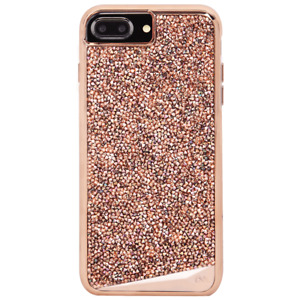 Case-Mate Apple iPhone 8 Plus/7 Plus/6 Plus Rose Gold Brilliance Tough Case