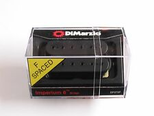 DiMarzio F-spaced Imperium Bridge Model Humbucker Black W/Black Poles DP 272 F