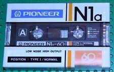 PIONEER  NIa   60   BLANK CASSETTE  TAPE  (1)     (SEALED)